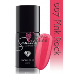 Oja UV Semilac 007 roz Pink Rock 7 ml